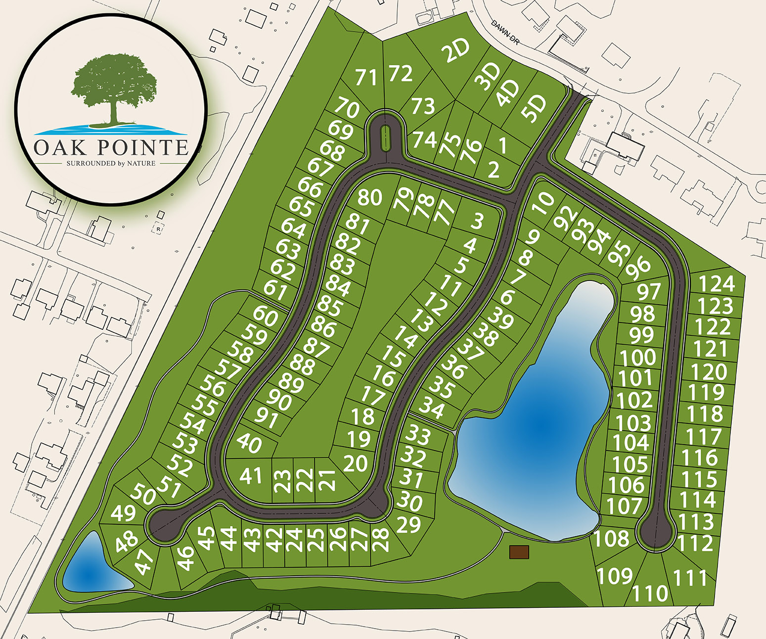 Oak Pointe Site Plan